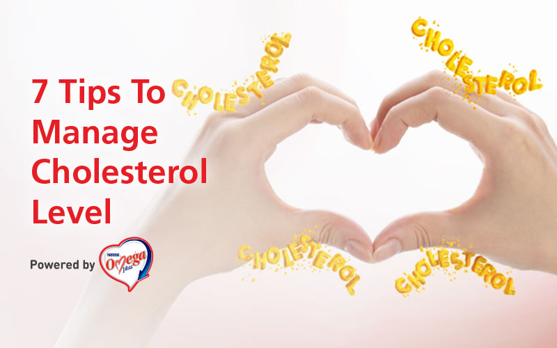 How can I manage my cholesterol levels