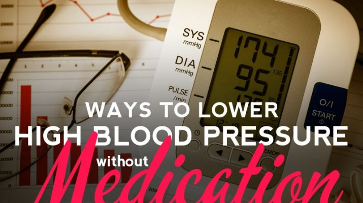 Manage Your High Blood Pressure Without Medicines