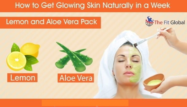 Natural Way To Attain a Naturally Glowing Skin
