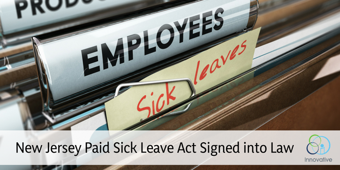 New Jersey Employees To Obtain Paid Sick Leave