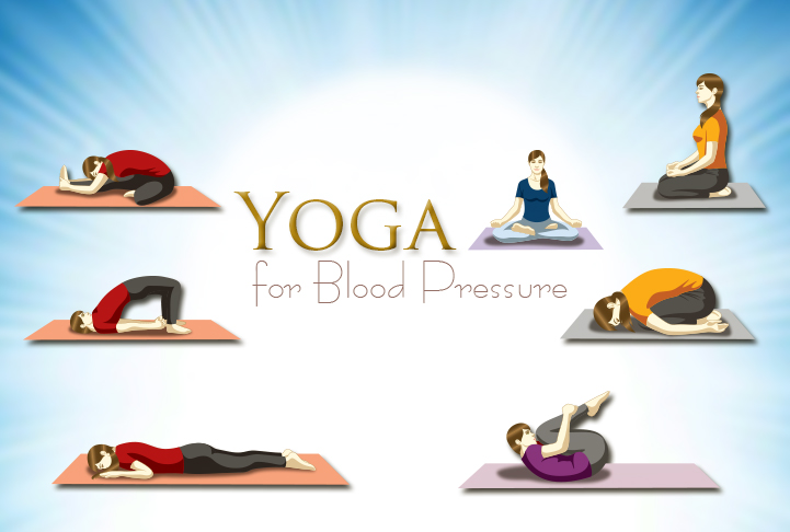 Yoga helps reduce blood pressure