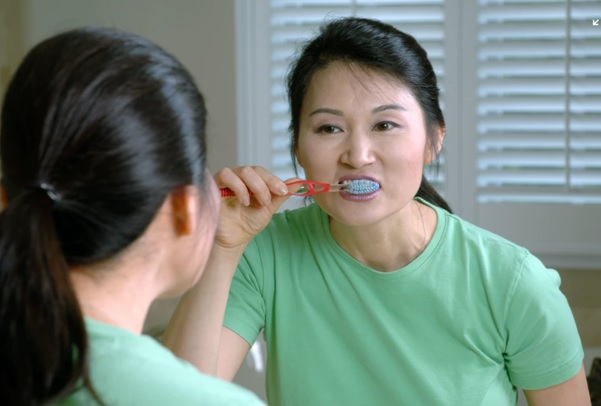 Brush teeth and clean your tongue properly