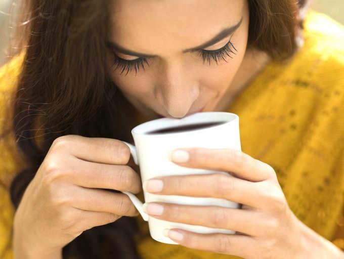 Drinking too much caffeine